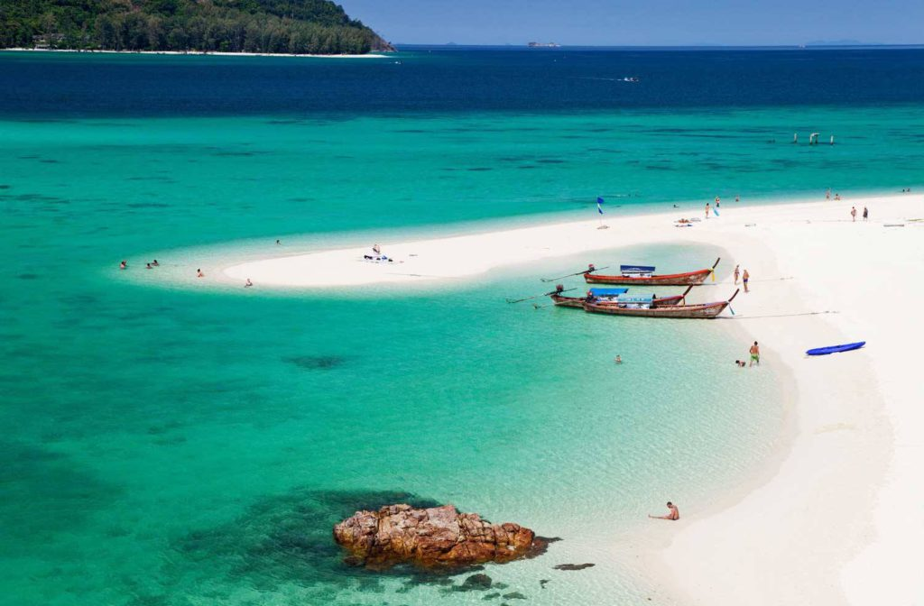 Beautiful secluded island in Thailand.  If you are thinking of a romantic weekend getaway.. This is the one!