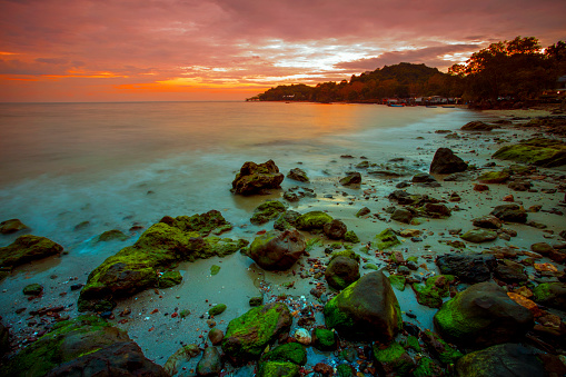 The Wang Kaew Beach, near Rayong Marriot Resort & Spa, perfect for a fun day at the beach.