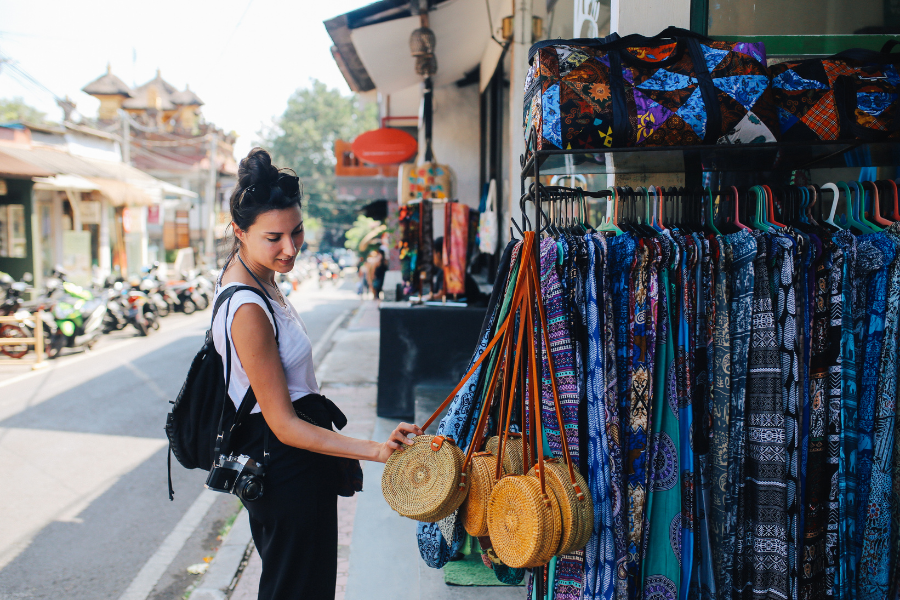 Walk by the streets of Bali and look through their items, you might find an interesting pick!